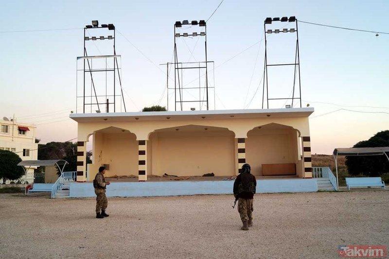 Rasulayn'da YPG eğitim kampı bulundu! Kaçırdıkları çocukları burada eğitiyorlarmış!