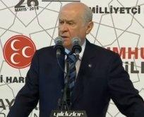 Bahçeli MHPnin seçim beyannamesini açıkladı