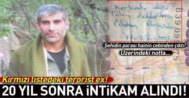 Kırmızı listedeki o terörist öldürüldü!