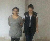 PKK üyesi kadın İzmirde yakalandı!