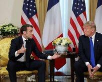 Macron yüzüne karşı söyledi: Açıklamalarımın arkasındayım