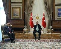 Başkan Erdoğan'dan kritik görüşmeler