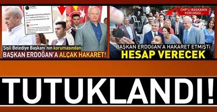 """Son dakika... Mehmet Ali Başkale """"cumhurbaşkanına hakaret"""" suçundan tutuklandı"""