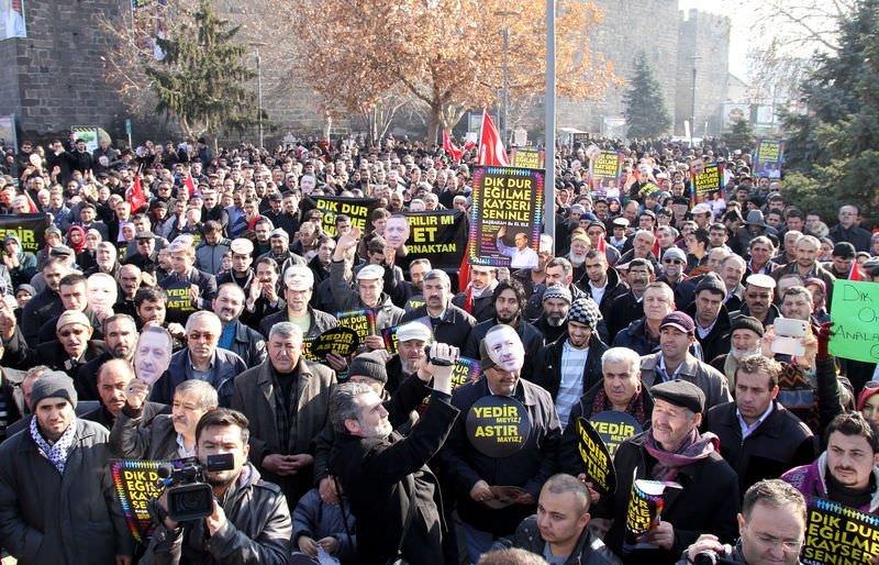 Kayseri'de Başbakan'a büyük destek