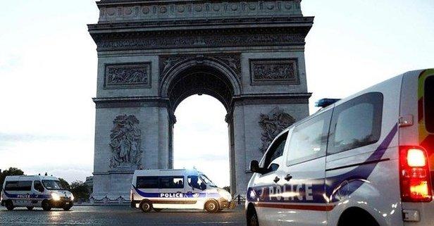 Paris'te bomba ihbarı sonrası panik