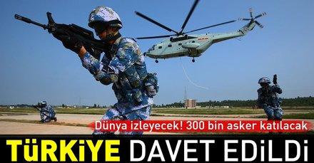 Rusyadan 300 bin askerin katılacağı tatbikat için Türkiyeye davet!