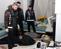 İstanbul'da rezidansa şok baskın!