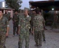 Sincardan çekildiğini iddia eden PKK üsleri böyle görüntülendi