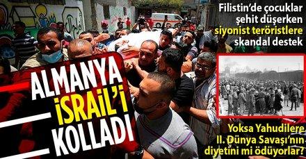 Almanya, İsrail'i kolluyor! Skandal açıklama...