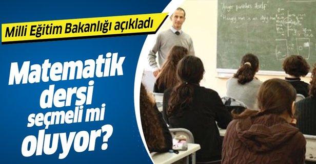 Milli Egitim Bakanlığı açıkladı: 9. 10. ve 11. sınıflarda...