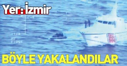 Son dakika: İzmir'de 139 düzensiz göçmen yakalandı