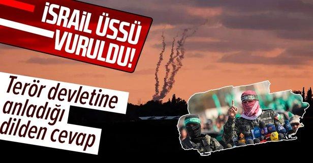 İsrail'e ait Urim Üssü vuruldu!
