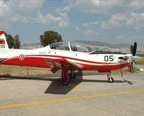 İzmir'de askeri uçak düştü