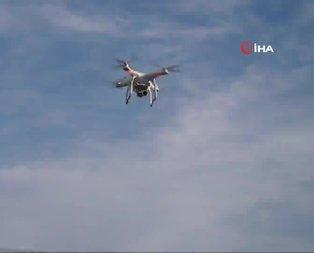Trafik canavarlarına dronelu denetim