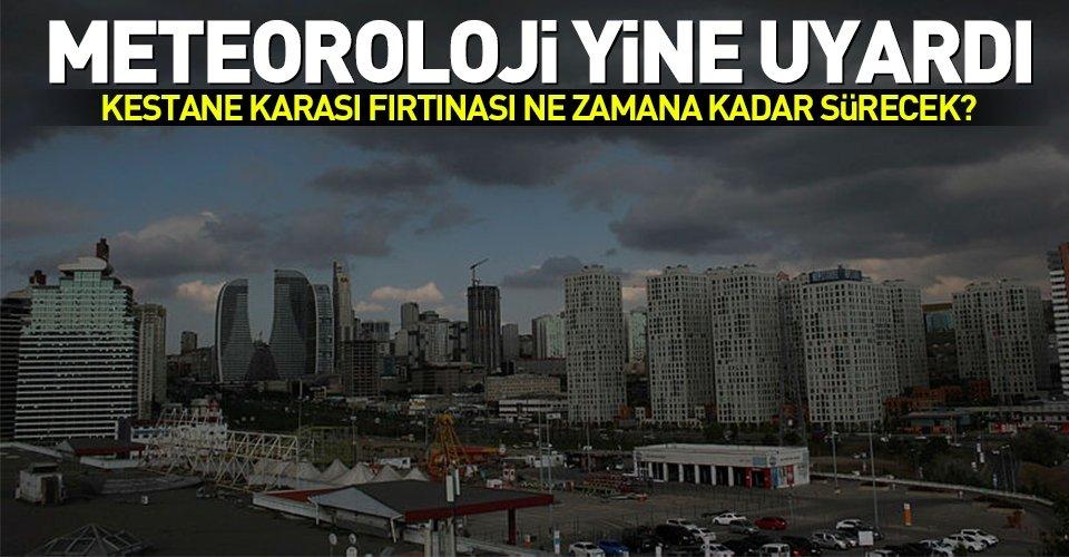 Meteorolojiden Marmaraya uyarı!