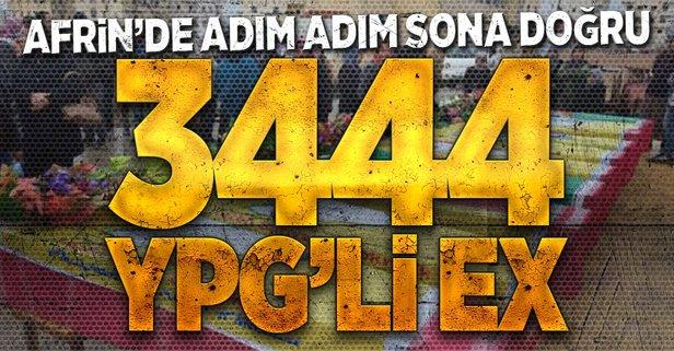 TSKdan flaş Afrin açıklaması! İşte öldürülen terörist sayısı