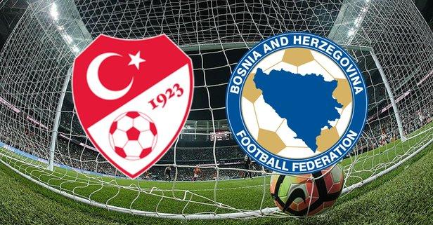 Türkiye - Bosna Hersek maçı hangi kanalda?
