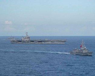 Türk donanması İsrail gemisini engelledi!