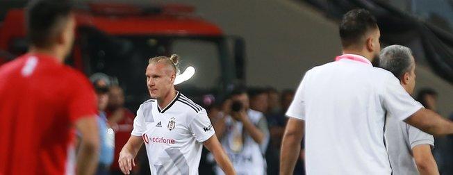 Gazişehir Gaziantep maçında Domagoj Vida'dan inanılmaz hata! İşte o anlar...