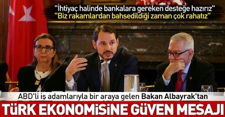 Son dakika: Hazine ve Maliye Bakanı Berat Albayraktan flaş açıklama: İhtiyaç halinde bankalara gereken desteğe hazırız