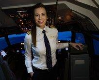 İşte THY'nin en genç kaptan pilotu!