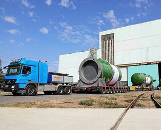 Atommash, Akkuyu NGS'nin ilk ünitesi için üretilen reaktör basınç kabını Türkiye'ye gönderdi! Tam 3 yılda üretildi