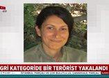 Son dakika: Gri kategoride aranan Nirvana kod adlı terörist Semra Tuncer yakalandı