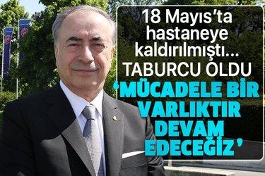 Galatasaray Başkanı Mustafa Cengiz tedavi gördüğü hastaneden taburcu oldu