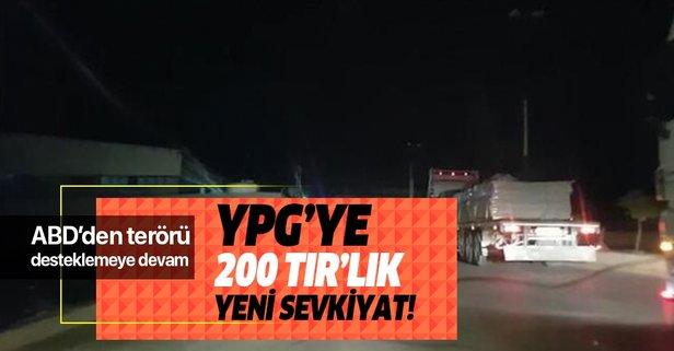 ABD'den YPG'ye 200 TIR'lık yeni sevkiyat!