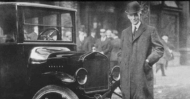 Ford Model T'yi üreten mühendis kimdir?
