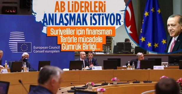AB liderlerinden AB Komisyonuna Türkiye çağrısı!