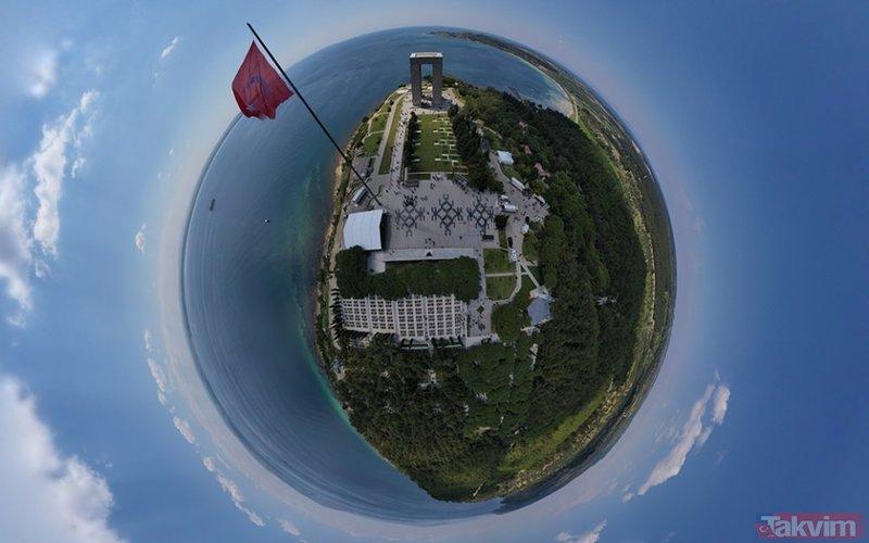 Tarihi Gelibolu Yarımadası ilk kez böyle görüntülendi