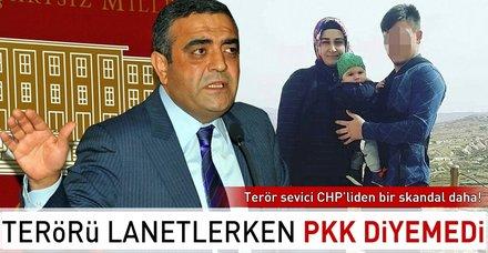 CHP'li Sezgin Tanrıkulu, PKK demeden terörü lanetledi