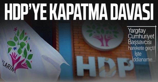 HDP'nin kapatılması için AYM'ye dava açıldı