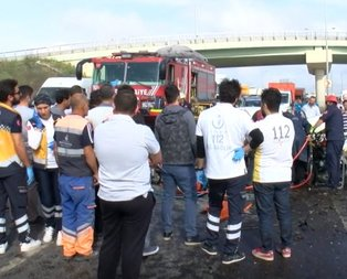 İstanbulda korkunç kaza!