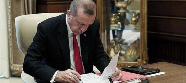 Cumhurbaşkanı Erdoğan'dan o kanuna onay