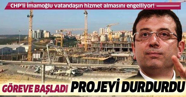CHP'li İmamoğlu kaliteli hizmetin karşısında!
