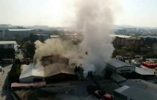 Tuzla'da fabrika yangını! Çok sayıda itfaiye sevk edildi