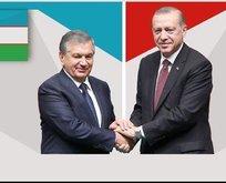 Özbekistan ile Türkiye arasında stratejik ortaklık!