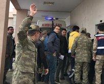 Askeri araç devrildi: 1 şehit, 5 yaralı!