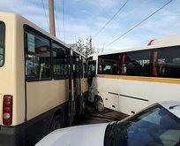 Kırıkkale'de zincirleme kaza