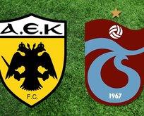 Trabzonspor AEK maçı hangi kanalda yayınlanacak?