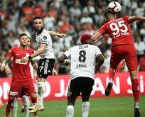 Beşiktaş evinde mağlup