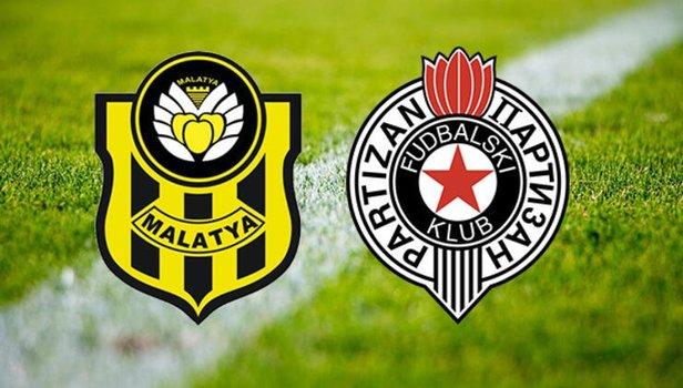 Yeni Malatyaspor Partizan maçı saat kaçta hangi kanalda? (Video)