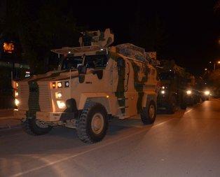 TSK'dan sınıra askeri sevkiyat
