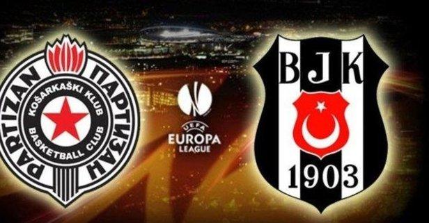 UEFA açıkladı! Partizan - Beşiktaş maçı...