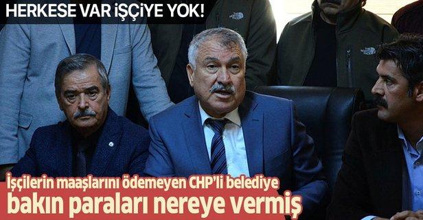 CHP'li belediyede skandal! İşçilere yok, festivallere var