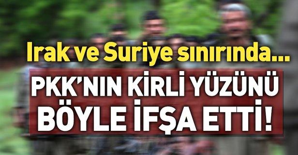 PKK'nın kirli yüzü bir kez daha ortaya çıktı!
