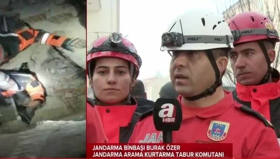 Elazığ depremi sonrası Yüsra bebek ve annesi nasıl kurtarıldı? JAK komutanı A Haber'e o anları anlattı