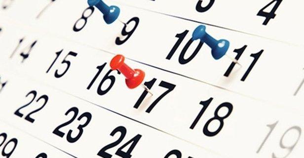 Bayramı tatili hangi tarihte ne zaman?